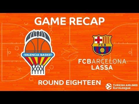 Highlights: Valencia Basket - FC Barcelona Lassa