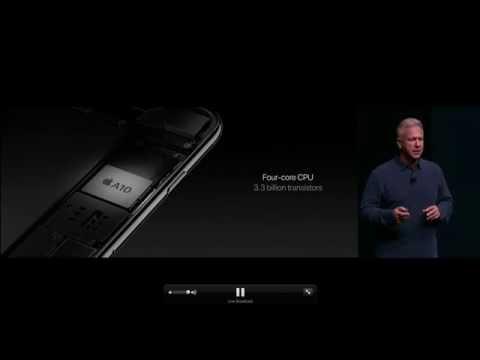 A10 Fusion Chip Presentation | Apple Keynote | Spanish Subtitles