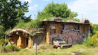 The Craziest Cob House You've Ever Seen