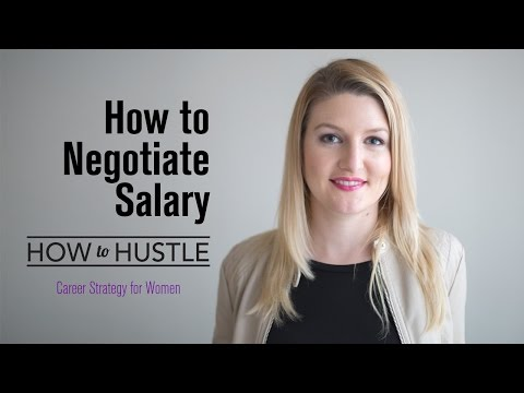How to Negotiate Salary