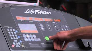 Life Fitness Treadmill Tutorial