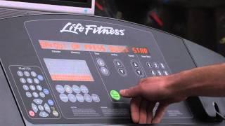Life Fitness Treadmill Tutorial