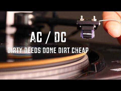 AC/DC - Dirty Deeds Done Dirt Cheap - 1981 Vinyl LP Reissue