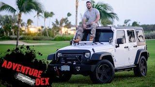 Jeep Wrangler Front Bumper Installation!