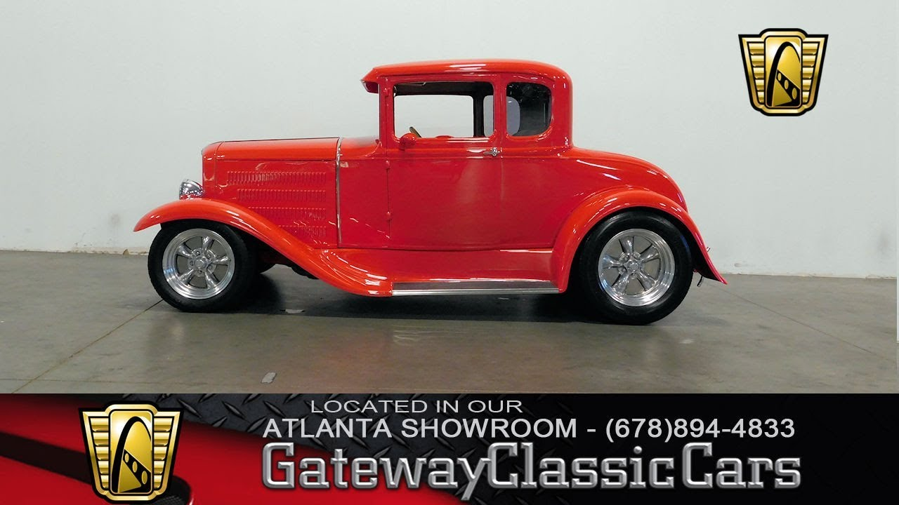 1930 Ford Coupe Gateway Classic Cars of Atlanta Stock #831
