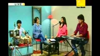 RAAGE ANURAAGE Title song LIVE of MADHURAA from ZEE BANGLA SERIAL