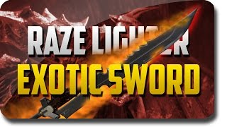 "Destiny Game ""The Taken King"" ""Raze Lighter"" Exotic Sword Review (Destiny Exotic Sword Quest)"