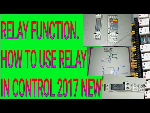 Relay operation and function/ How to use relay for electrical Control panels simple explanation new