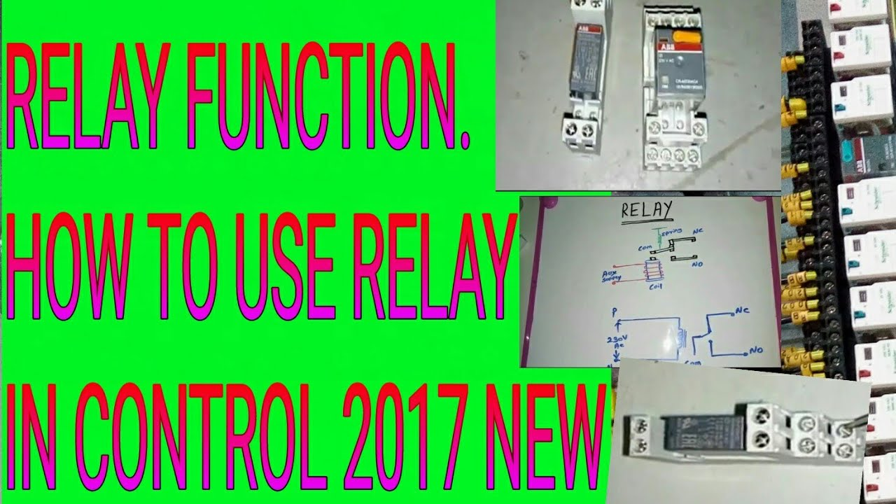 Relay operation and function How to use relay for electrical