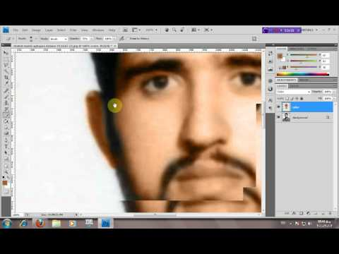 Colorize a Black-White Picture in Photoshop Cs4  - Islamic Video Tutorial - HD - islamicwallpers.ir