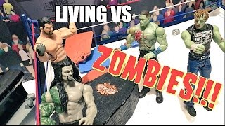 GTS WRESTLING: ZOMBIE CASKET MATCH! WWE Mattel Figure Animation PPV Event(, 2016-06-25T21:36:10.000Z)