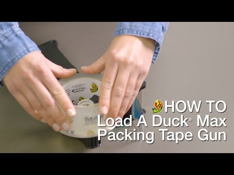 How To Load Your Duck Max Packing Tape Gun