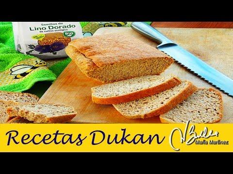 Pan de Linaza Dukan en Horno / Dukan Flaxmeal Bread Recipe