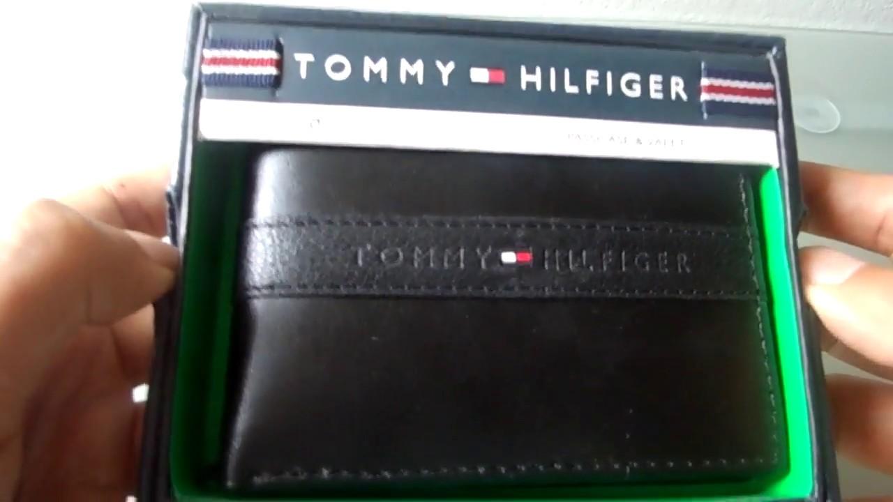zapatos de separación c3b6f a1471 Billetera Tommy Hilfiger 2 cuerpos con chip anticlonacion