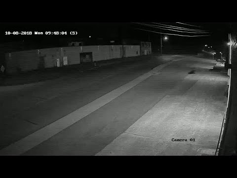 Fast Freddie - Surveillance cam captures Youngstown street racing crash