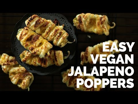 Easy Vegan Jalapeno Poppers | Two Market Girls