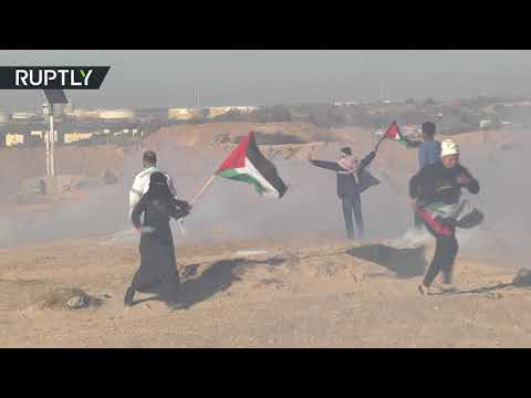 Israeli military injures 13 people at Gaza flotilla protest