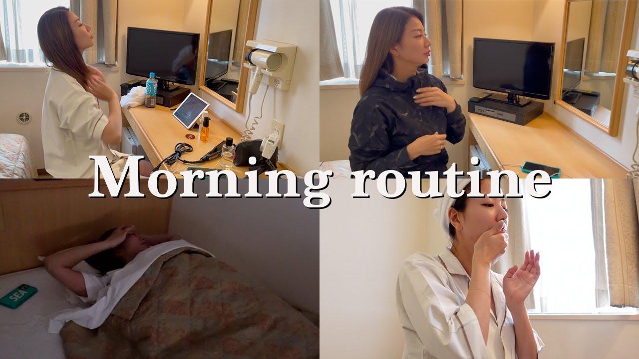 【vlog】青木愛の仕事がある日のモーニングルーティン