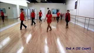 Shake Your Boom Boom ~ Malene Jakobsen - Line Dance (Dance & Teach)