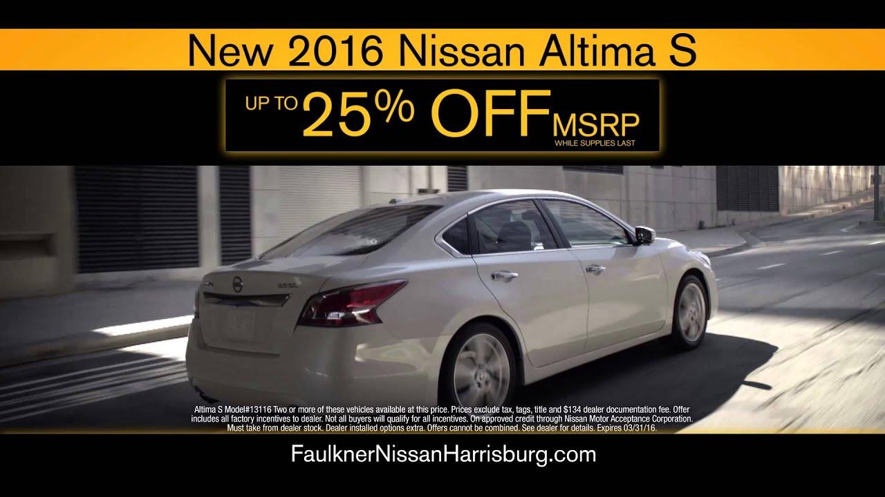 Faulkner Nissan Harrisburg >> Faulkner Nissan Of Harrisburg More