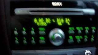 Ford Autoradio Sony CD 132  MP3  Doppel DIN  CDX FS 132 1