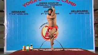 Yoga Science Camp: Swami Ramdev | Brisbane, Australia | 09 April 2015