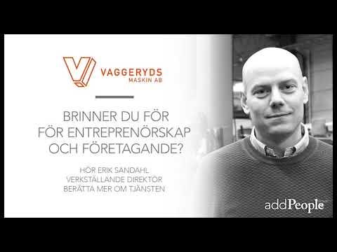 Lediga jobb Chefer och verksamhetsledare Vaggeryd