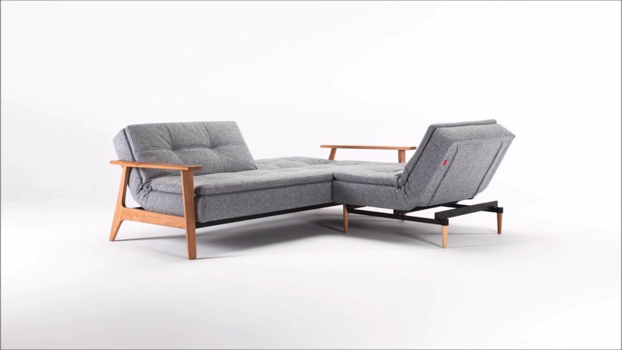 dublexo frej sofa und sessel innovation living auf youtube. Black Bedroom Furniture Sets. Home Design Ideas