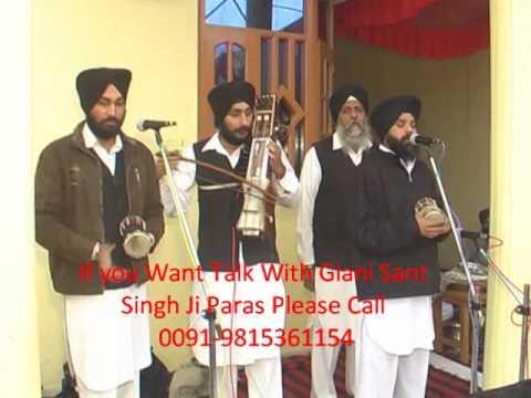 Putt Pardesi ( Super Hit  Sad  Punjabi Album ) Live Stage Speach by Sant Singh Paras-2