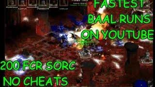 Diablo II - Fastest Baal Runs In The World (no cheats)