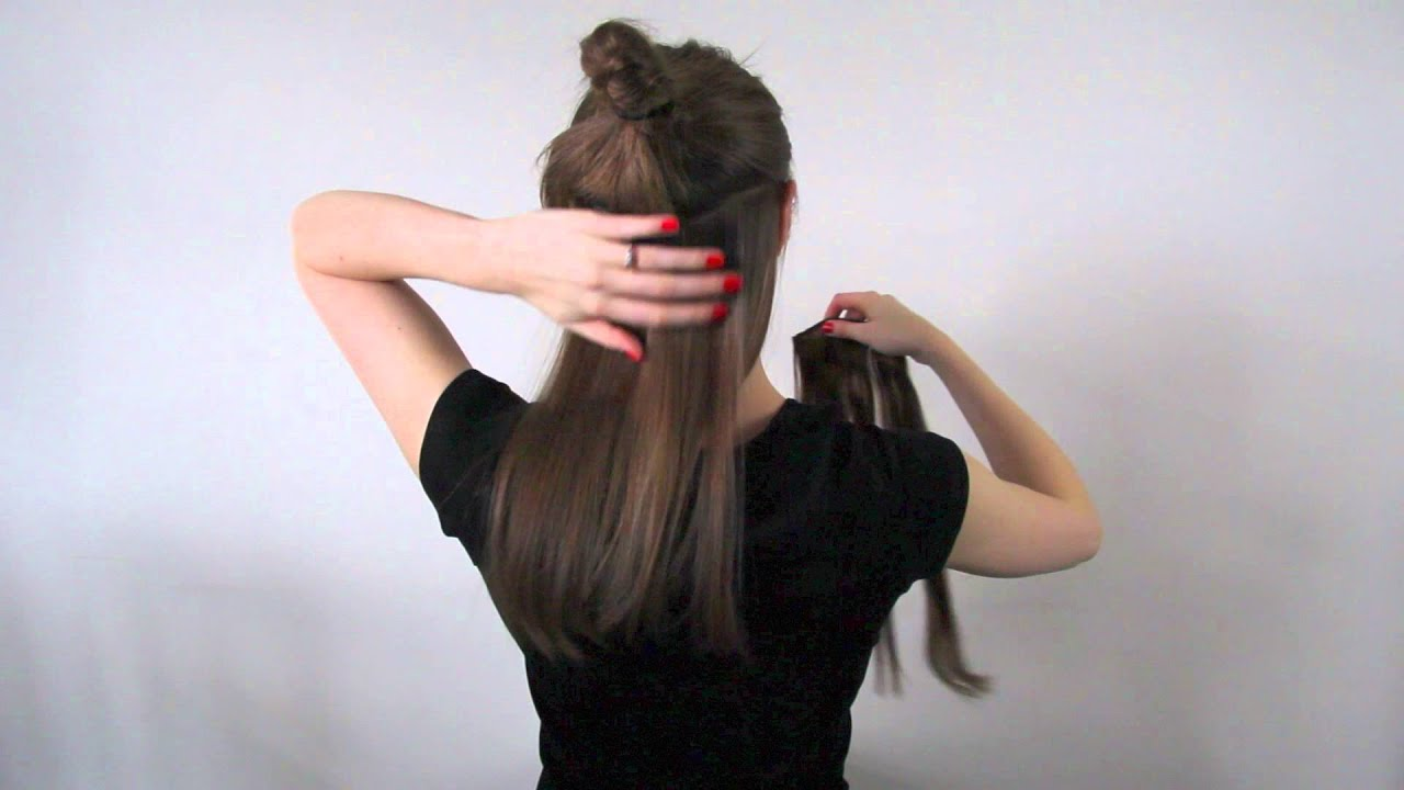 Hair Extensions Tutorial Review Bobby Glam Youtube
