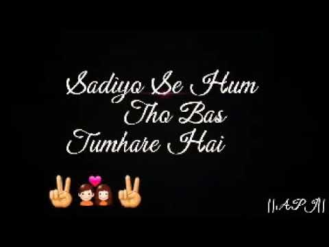 Falak Se Puch Lo Chahe Lyrics Video  Whatsapp Status Video  Romantic Video Song