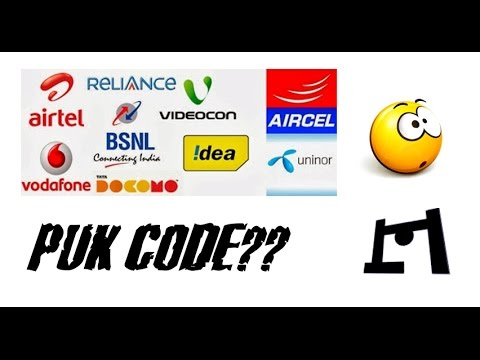 How To Get PUK Code For Tata Docomo Sim Cards & Other Mobile Carriers | 2016