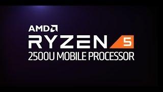 AMD Ryzen™ 5 2500U Mobile Processor Side-by-Side - Productivity