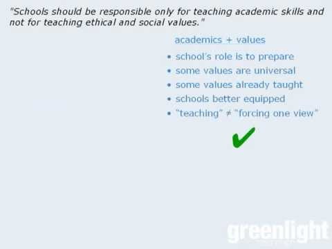 GRE Analytical Writing - Generating Points for the Issue Essay