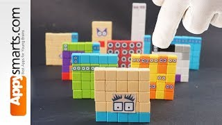 Our New Magnetic Numberblock 25 ( crafts and math project for kids)