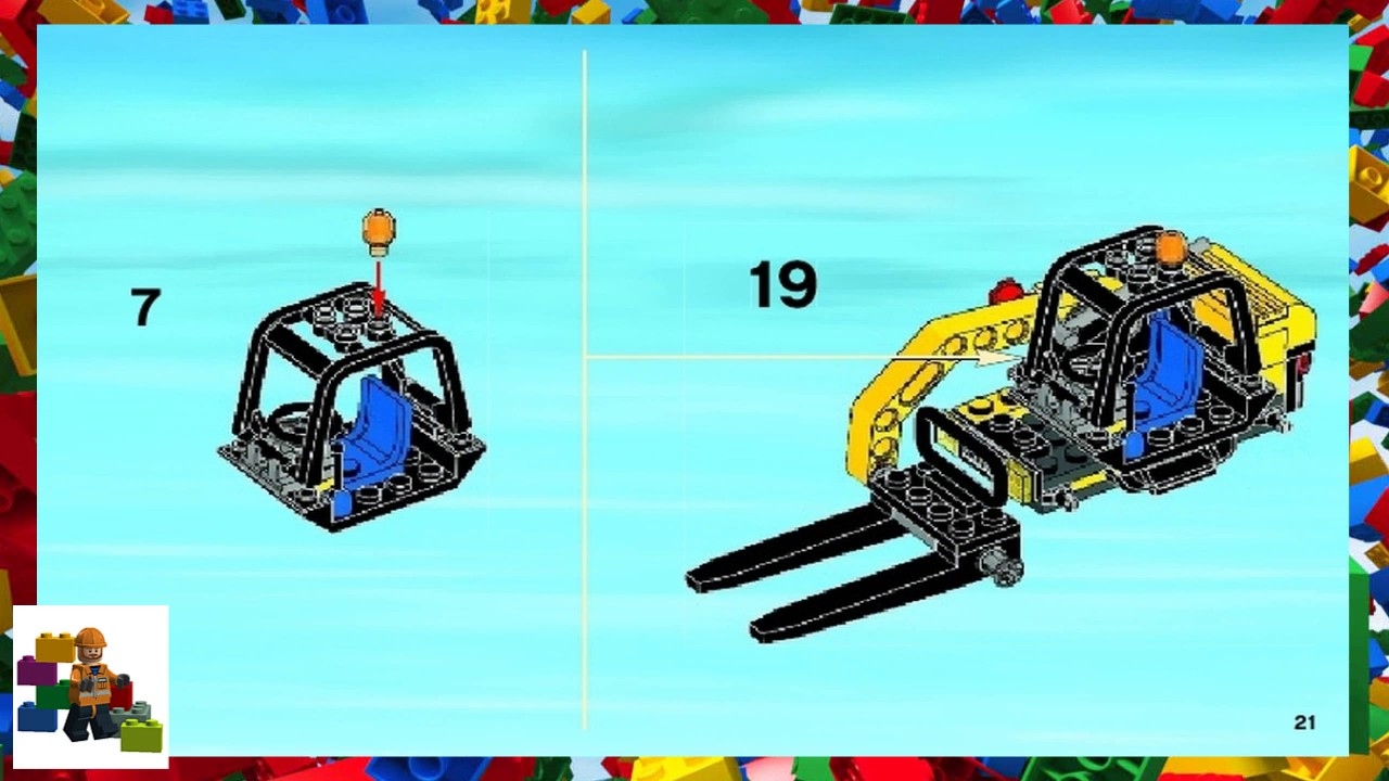 Lego Instructions City Traffic 4206 Recycling Truck Book 2