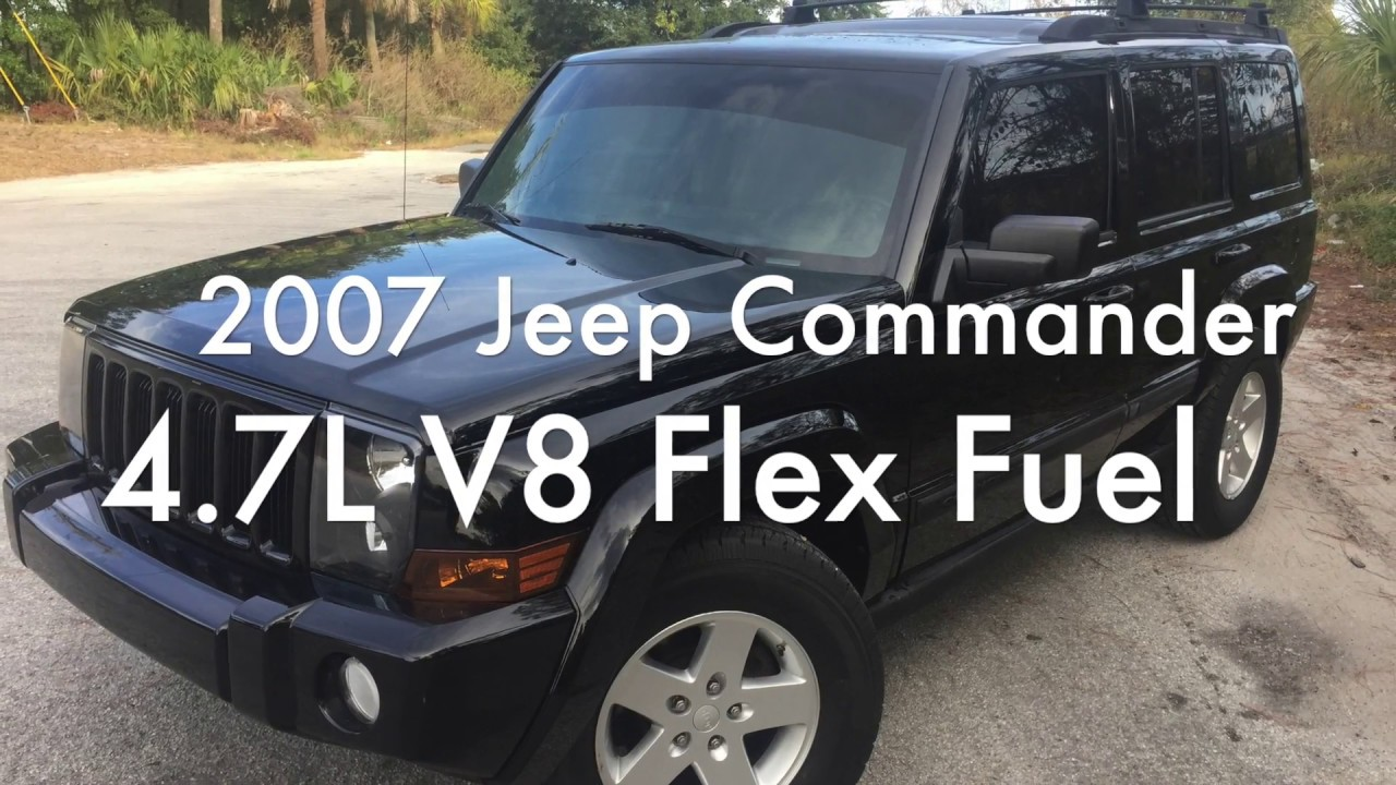 2007 Jeep Commander 4.7L V8 Car Review For Sale