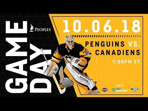 NHL 19 PS4. REGULAR SEASON 2018-2019: Montreal CANADIENS VS Pittsburgh PENGUINS. 10.06.2018. (NBCSN)