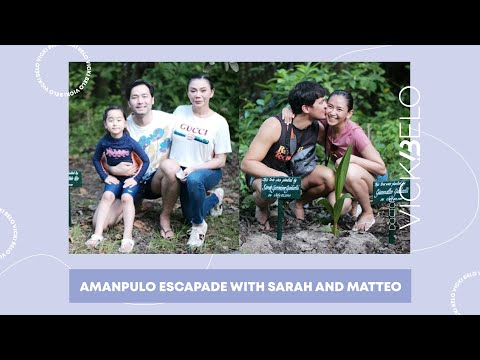Amanpulo Escapade with Sarah and Matteo   Vicki Belo