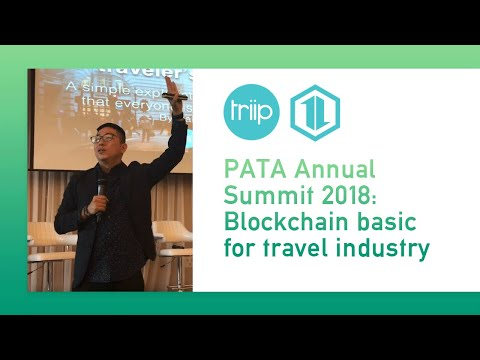 Blockchain basic for travel industry - PATA Annual Summit 2018 - Hai Ho TriipMiles
