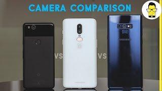 Galaxy Note 9 vs OnePlus 6 vs Pixel 2 camera comparison: the best smartphone camera?