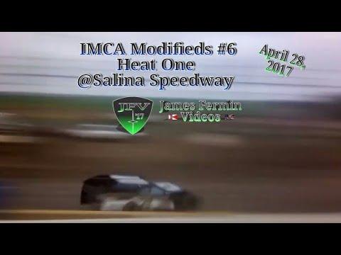 IMCA Modifieds #4, Heat, Salina Speedway, 2017
