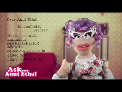 In Agony Aunt - Ask Aunt Ethal