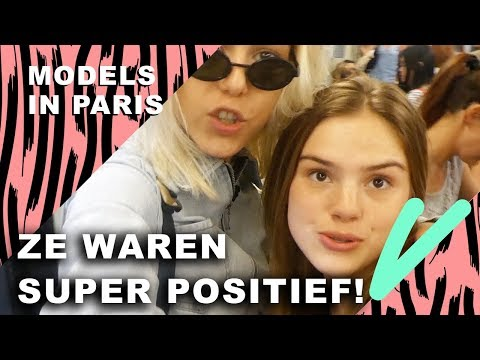FAMKE LOUISE wil DOORBREKEN bij AGENCY! | Models in Paris - CONCENTRATE VELVET