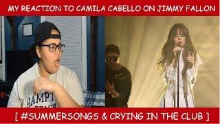 My Reaction To Camila Cabello On Jimmy Fallon