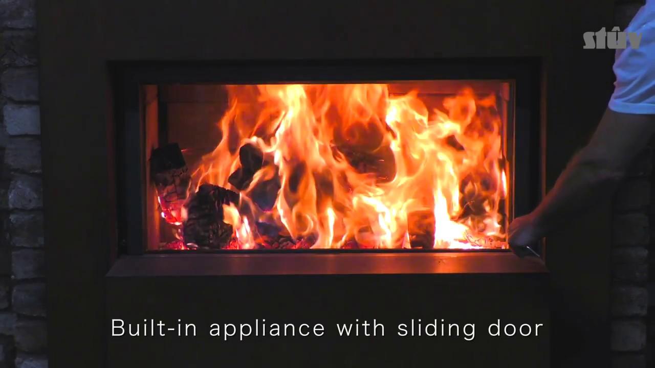 stuv 21 105 wood burning stove youtube