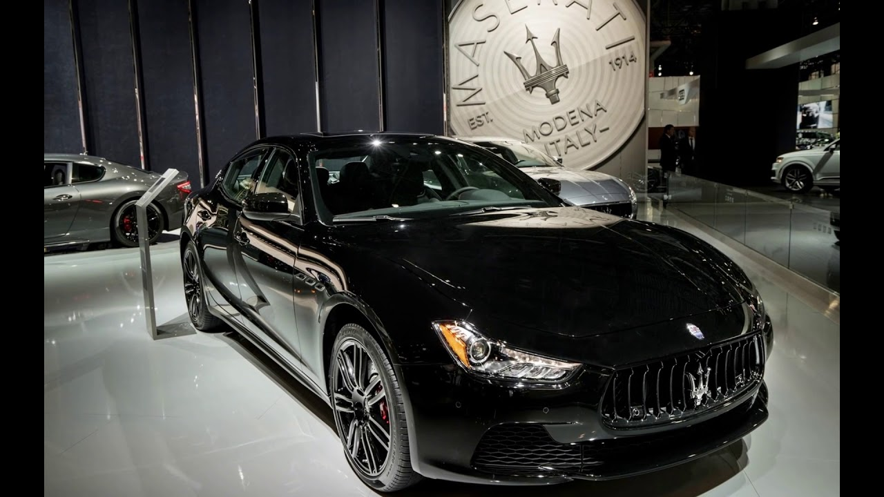 2018 Maserati Ghibli Nerissimo Black Edition - YouTube
