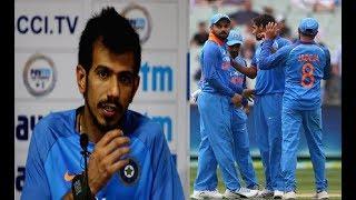 मैन ऑफ़ द मैच लेते हुए चहल ने कोहली को नजरअंदाज कर इन्हें दिया सफलता का श्रेय