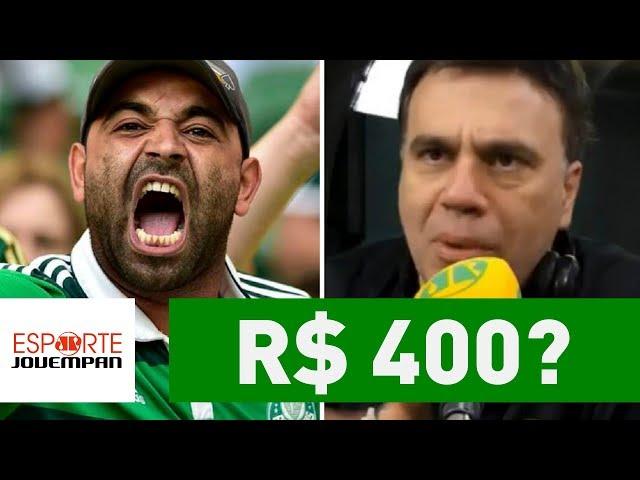 Mauro Beting desabafa contra preços do Verdão na Liberta!